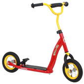 Volare Autoped 10 inch Rood/Geel