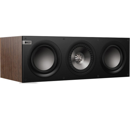 KEF Q200c Walnoot