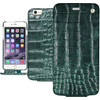 Noreve Tradition Crocodile Leather Case Apple iPhone 5/5S/SE Groen