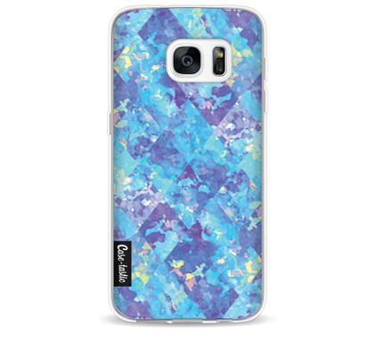 Casetastic Softcover Samsung Galaxy S7 Sapphire Patchwork