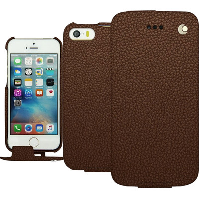 Noreve Tradition Grain Leather Case Apple iPhone 5/5S/SE Bruin