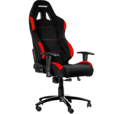 voorkant Gaming Chair Zwart / Rood