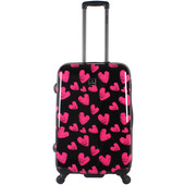 Saxoline Hearts 4 Wheel Trolley 67 cm