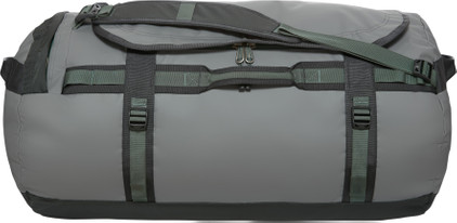 The North Face Base Camp Duffel Zinc Grey/Duck Green - L