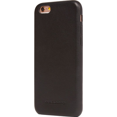 Image of Decoded Leather Back Cover Apple iPhone 6/6s Zwart