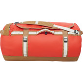The North Face Base Camp Duffel Poinciana Orange/Brown - L