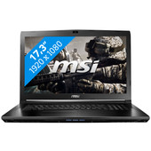 MSI GL72 6QD-214BE Azerty