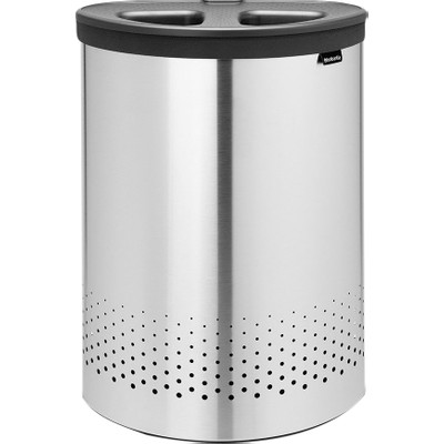 Foto van Brabantia Wasbox 55 liter 'Selector' Matt Steel