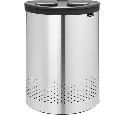 Brabantia Wasbox 55 liter 'Selector' Matt Steel