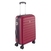 Delsey Segur SLIM 4 Wheel Cabin Trolley Case 55 cm Red