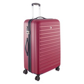 Delsey Segur 4 Wheel Trolley Case 78 cm Red