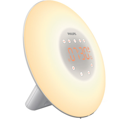 Philips Wake-Up Light HF3506/05 Zilver
