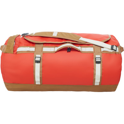 The North Face Base Camp Duffel Poinciana Orange/Brown - XL