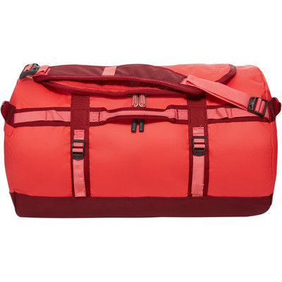 The North Face Base Camp Duffel Melon Red/Calypso Coral - S