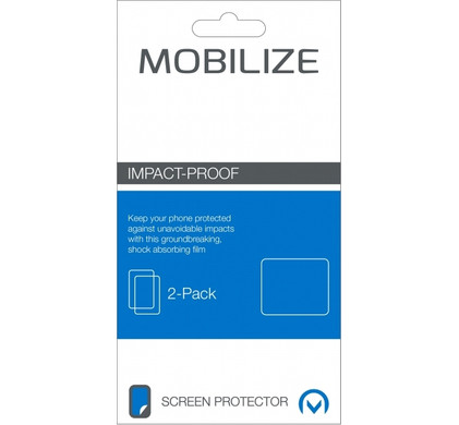 Mobilize Screenprotector Samsung Galaxy J3 (2016) Impact Proof