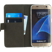 Mobilize Gelly Wallet Book Case Samsung Galaxy S7 Zwart