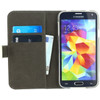 binnenkant  Gelly Wallet Book Case Galaxy S5 Neo