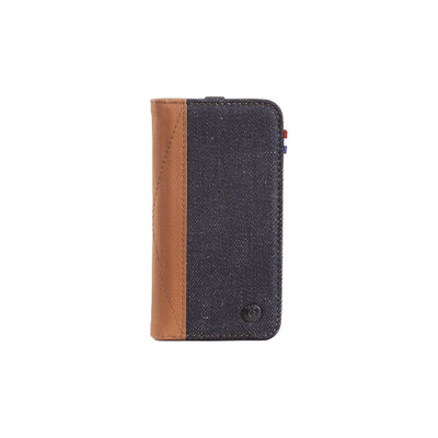 Image of Decoded Denim Leather Wallet Apple iPhone 5/5S/SE Bruin