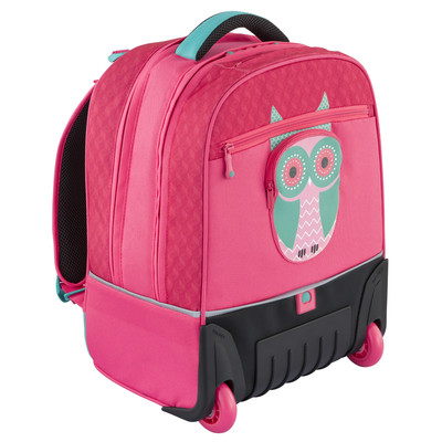 Image of Delsey Back To School Vertical Trolley Backpack Peony