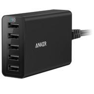 Anker PowerPort 5 Poorts 8A Zwart