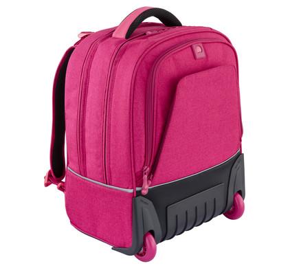 Delsey Back To School Vertical Trolley Backpack Pink