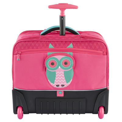 Image of Delsey Back To School Horizontal Trolley Backpack Peony