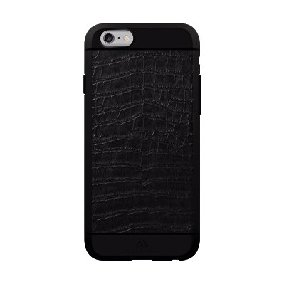 Image of Black Rock Material Croco Apple iPhone 6/6s Zwart