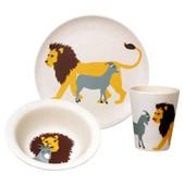 Zuperzozial Hungry Lion Kinder Eetset 3-delig