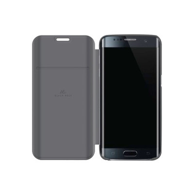 Image of Black Rock Material Mesh booklet Galaxy S7 Edge grijs