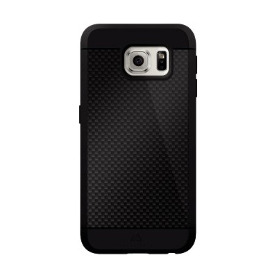 Image of Black Rock Material Real Carbon case Galaxy S6 zwart