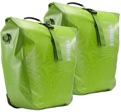 Thule Pack 'n Pedal Shield Pannier Chartreuse - L (paar)