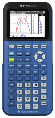 Texas Instruments TI-84 plus CE-T Blauw