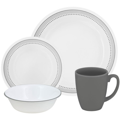 Image of Corelle Mystic Gray Serviesset 16-delig