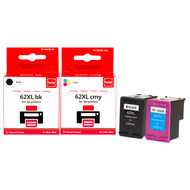Huismerk HP 62XL Cartridge Combo Pack