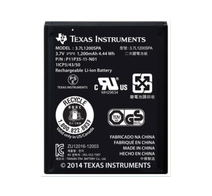 Texas Instruments oplaadbare batterij