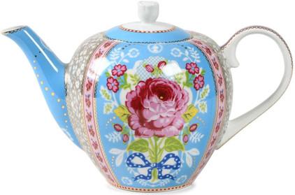 Pip Studio Floral Theepot Blauw 1,5L