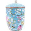 Pip Studio Floral Vooraadpot Blauw 1L