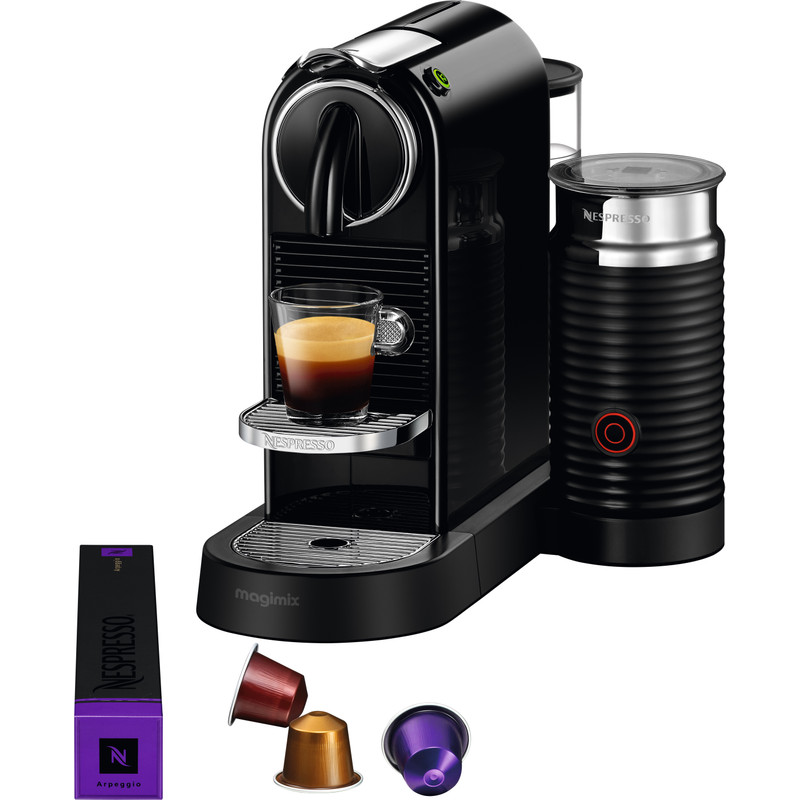 Magimix Nespresso CitiZ Milk M195 Zwart