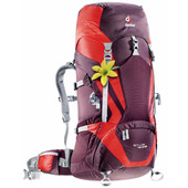 Deuter ACT Lite 45 + 10 SL Aubergine/Fire