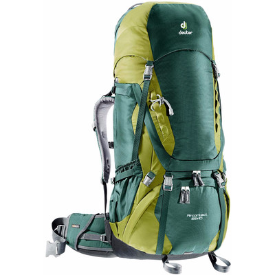 Image of Deuter Aircontact 65 + 10 Forest/Moss