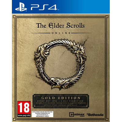 Image of Bethesda The Elder Scrolls Online, Tamriel Unlimited (Gold Edition) PS4