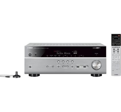 Een Yamaha Rxv 681 Musiccast Zilver  te koop aangeboden