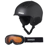Sinner Combi-P Pincher+Runner Il Matte Black (55 - 56 cm)