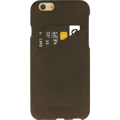 Valenta Backcover Classic Luxe Vintage Apple iPhone 7 Bruin