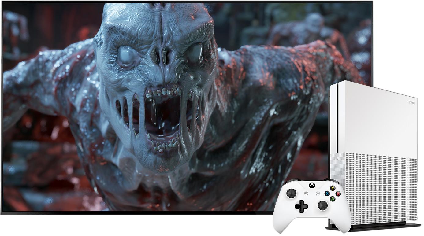 Xbox One S UHD