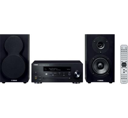 Yamaha MCR-N470 DAB+ Zwart/Zwart