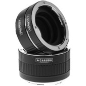 Caruba Extension Tube set Canon Chroom (type II)