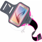 Mobiparts Comfort Fit Sportarmband Samsung Galaxy S6 Roze