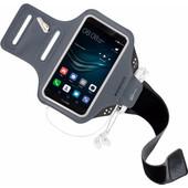 Mobiparts Comfort Fit Sportarmband Huawei P9 Zwart