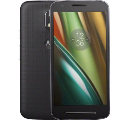 Motorola Moto E (Gen 3) Zwart